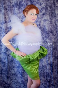 tulle dress, glamour photography