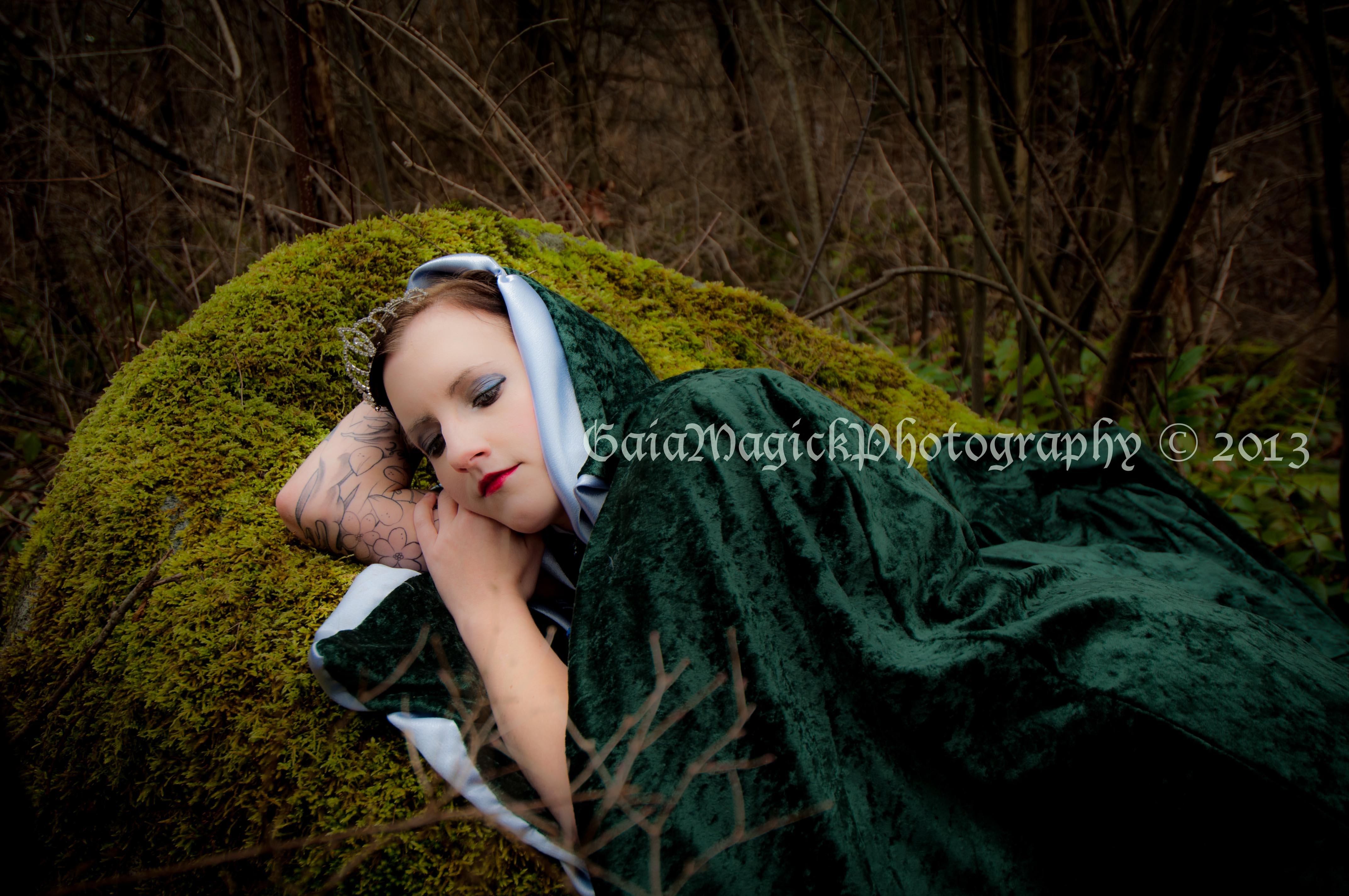 Sexy girls fun in the woods