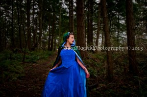 Comox Valley  Glamour Photography,, princess session
