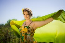 Gaia Magick Photography, Comox Valley, Boho earth goddess, glamour portraits, Dancing between the earth and sky, Mallory Malloy