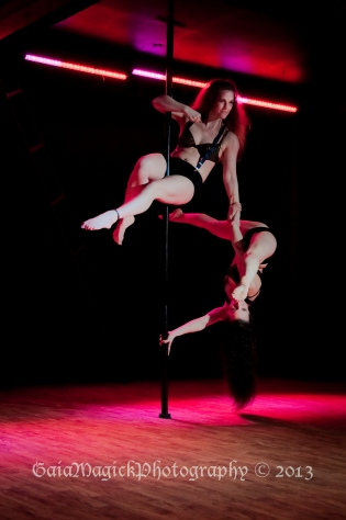 Gaia Magick Photography, Comox Valley, Femme Natale's Pole Fitness, Fundraiser Images March 2013