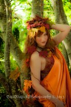 Gaia Magick Photography, Comox Valley, Boudoir and Glamour Photography, Fall Goddess Portraits, Janelle Lee