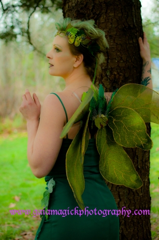 Gaia Magick Photography, Comox Valley, Glamour portraits, Pretty wildwood fairy, fairy fantasy, Lee-Ann Sahlstrom , Chrystal Rossler, Birthday Gifts for him, feel good about yourself, Gaia Magick Fairy